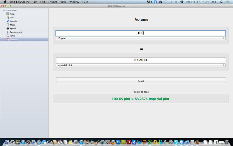 Screenshot 3 for Unit Calculator
