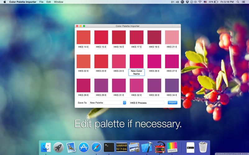 Screenshot 2 for Color Palette Converter