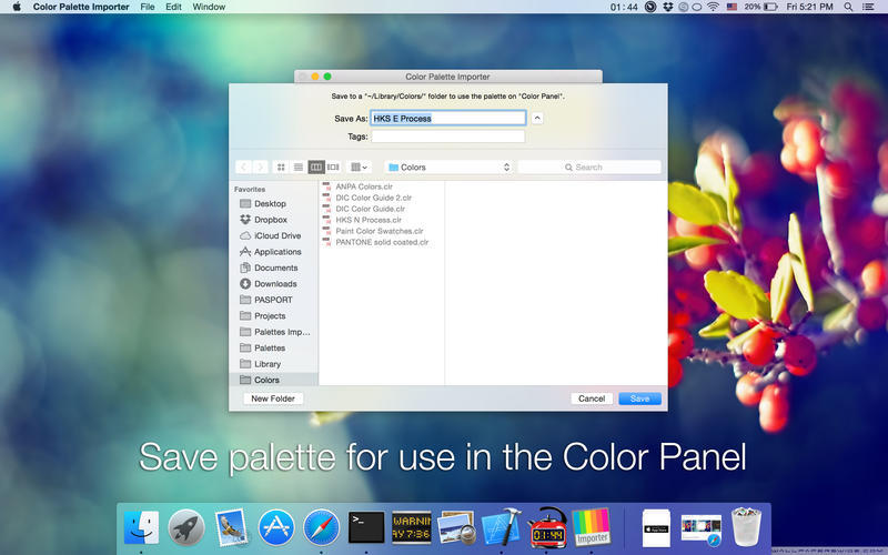 Screenshot 3 for Color Palette Converter