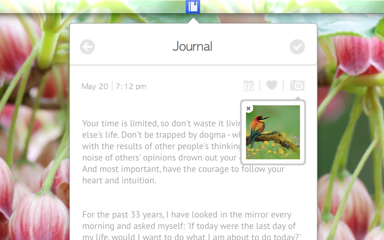 Screenshot 3 for Journal