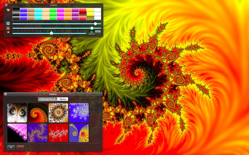 Screenshot 1 for Magic Fractals