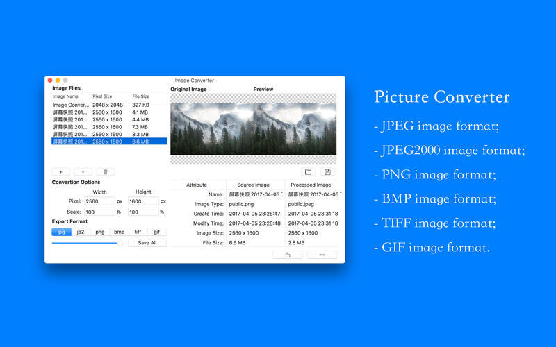 Screenshot 1 for Image Converter