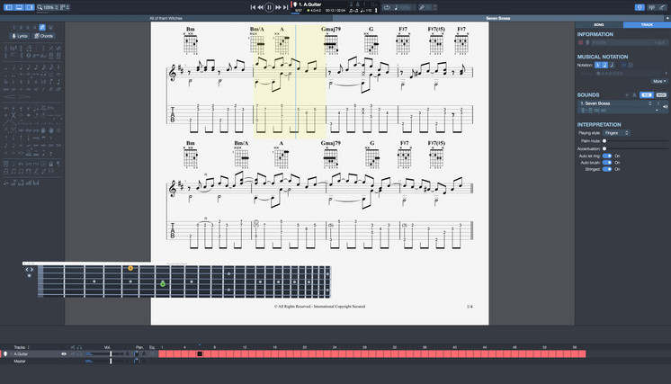 Screenshot 2 for Guitar Pro