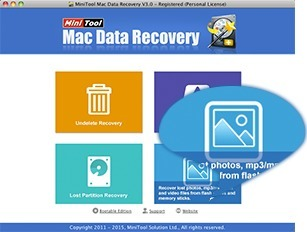 Screenshot 1 for MiniTool Mac Data Recovery