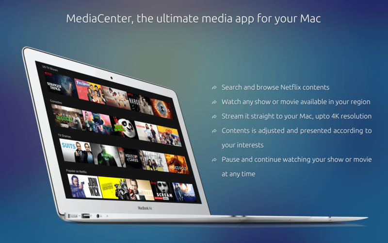 Screenshot 1 for MediaCenter