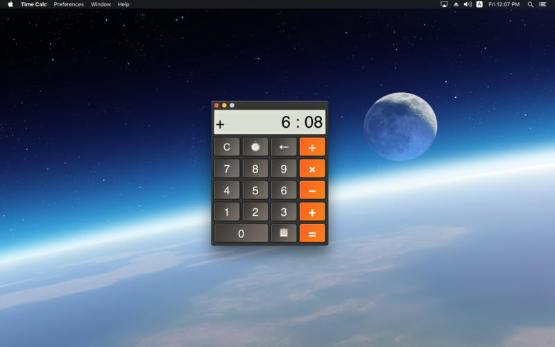 Screenshot 1 for Time Calc
