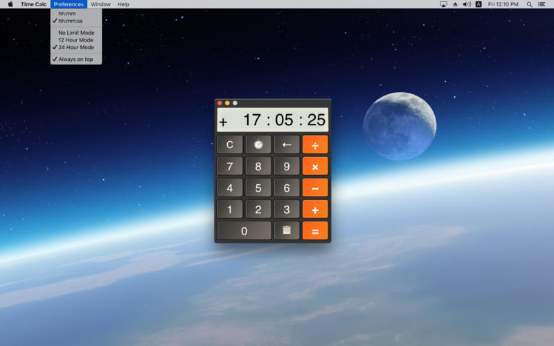 Screenshot 2 for Time Calc