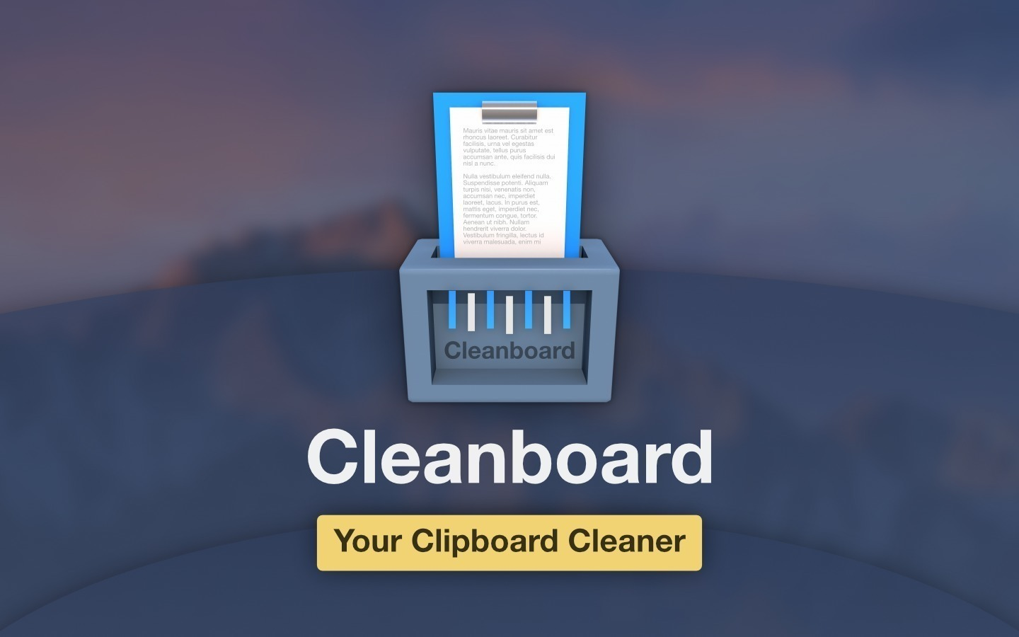 Screenshot 1 for Cleanboard