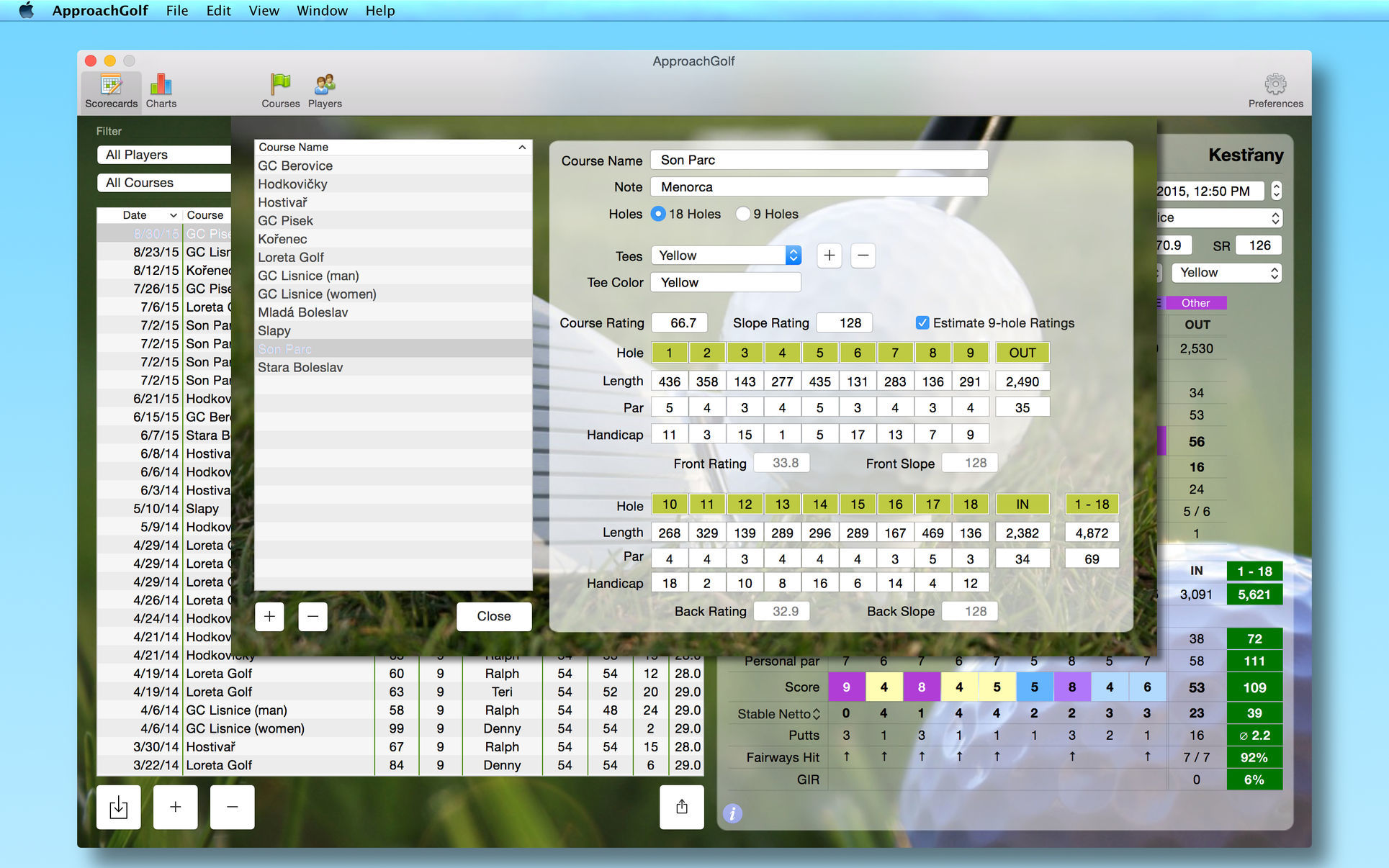 Screenshot 1 for ApproachGolf