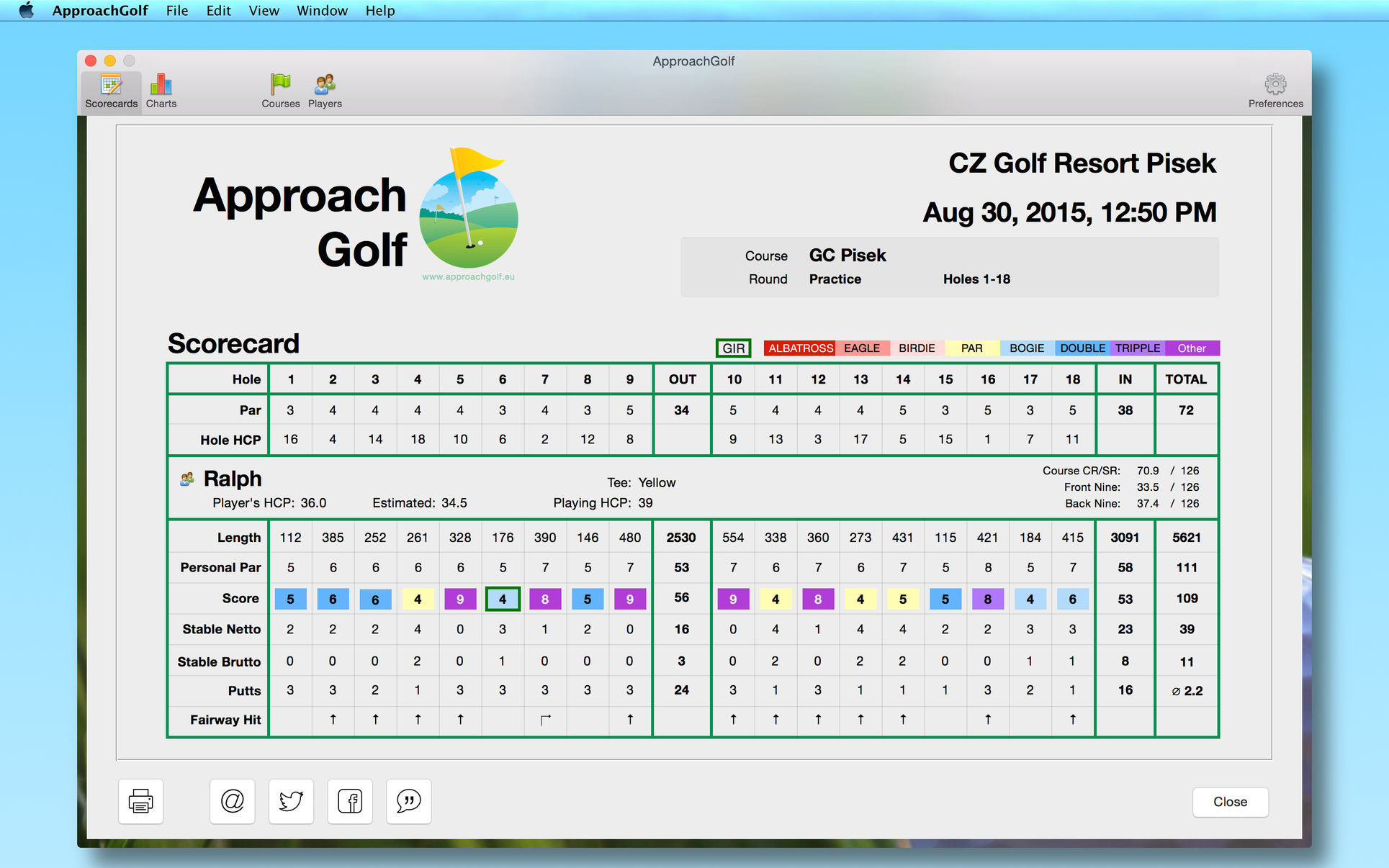 Screenshot 3 for ApproachGolf