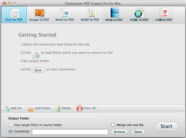 Screenshot 2 for Coolmuster PDF Creator Pro