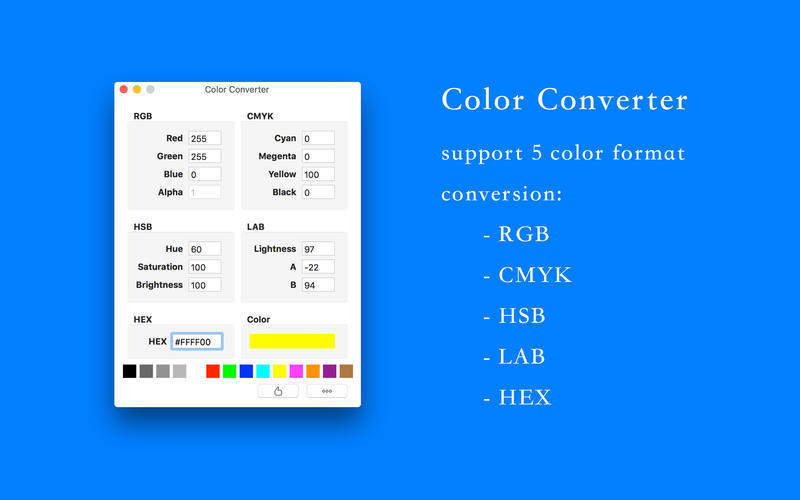Screenshot 1 for Color Converter