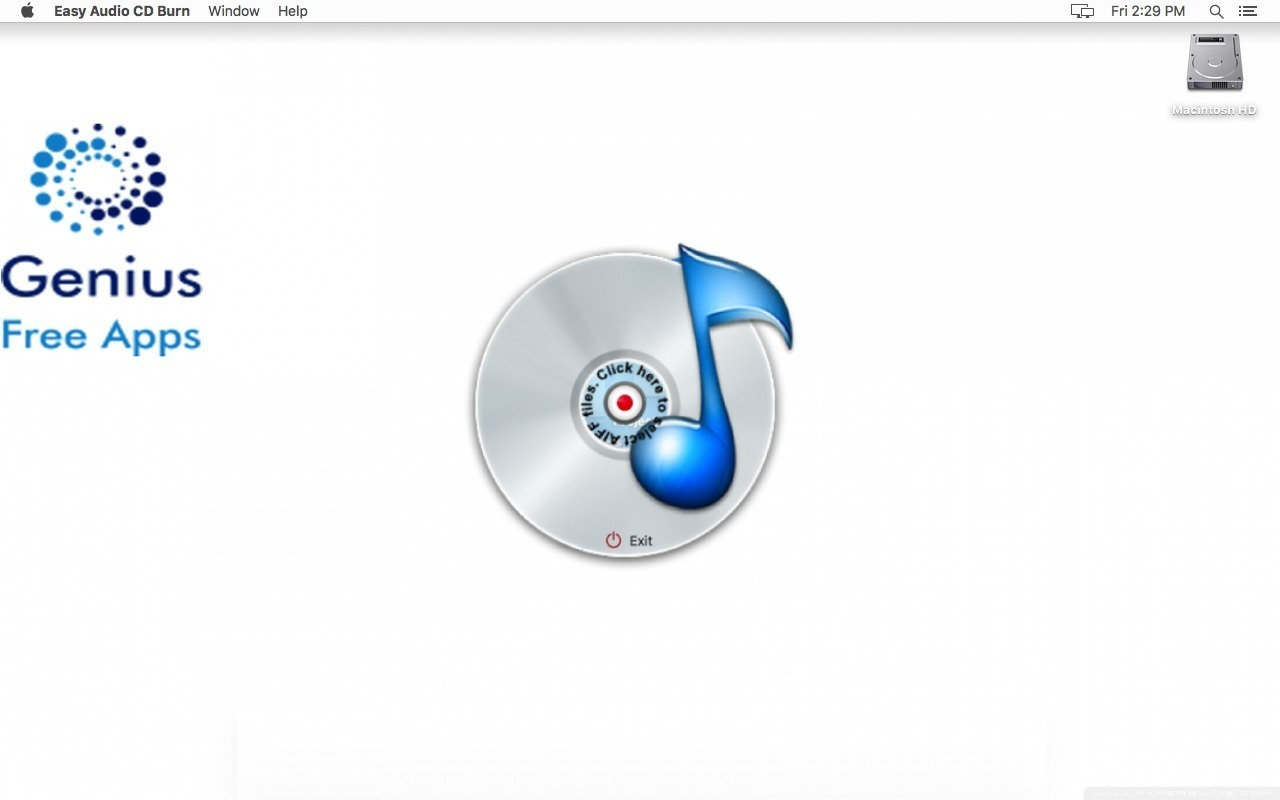 Screenshot 1 for Easy Audio CD Burn