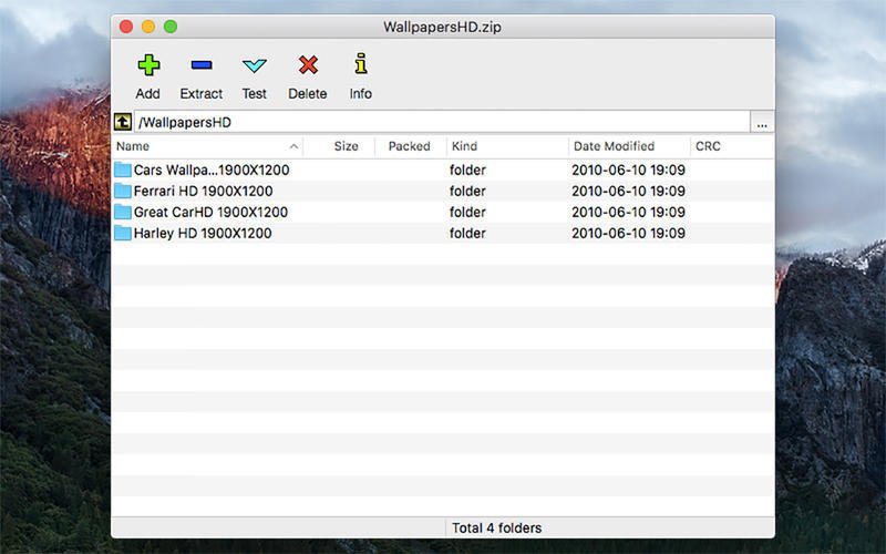 Screenshot 1 for ZipX