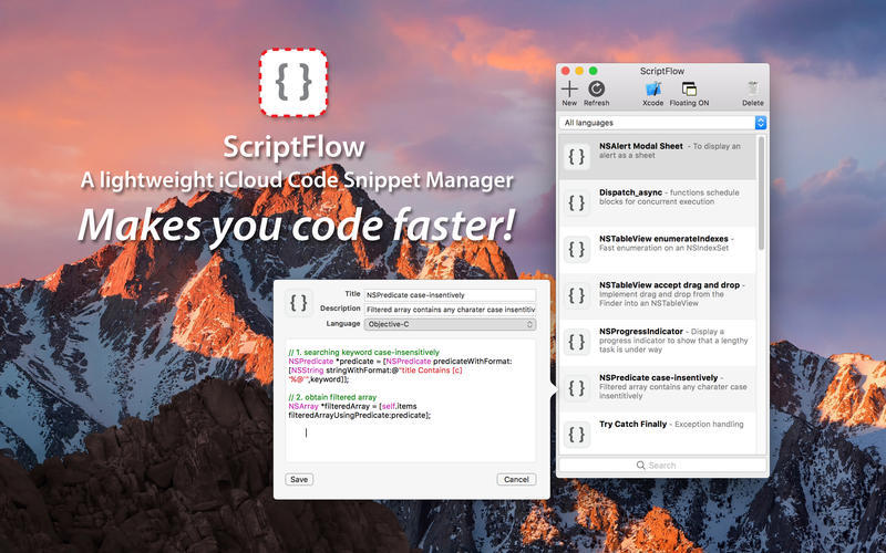 Screenshot 1 for ScriptFlow