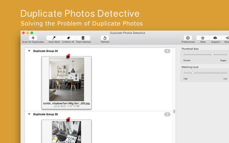 Screenshot 3 for Duplicate Photos Detective