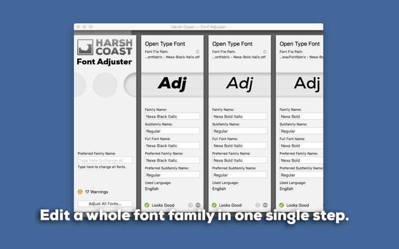Screenshot 2 for Font Adjuster