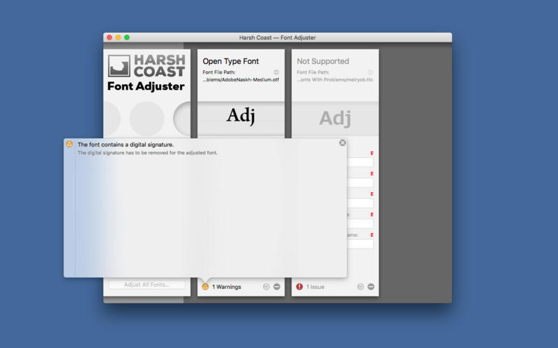 Screenshot 4 for Font Adjuster