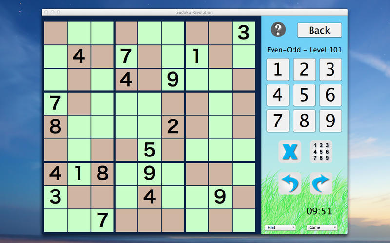 Screenshot 1 for Sudoku Revolution
