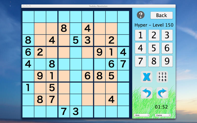 Screenshot 2 for Sudoku Revolution