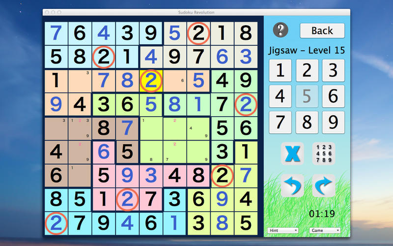 Screenshot 3 for Sudoku Revolution