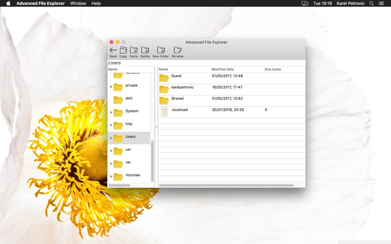 Screenshot 2 for Advanced File Explorer