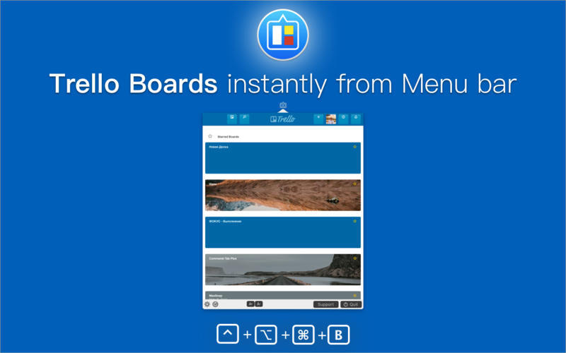 Screenshot 3 for QuickTab for Trello