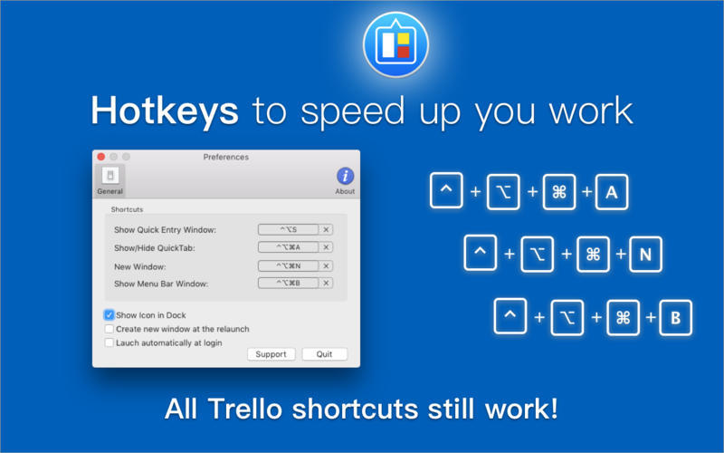 Screenshot 4 for QuickTab for Trello