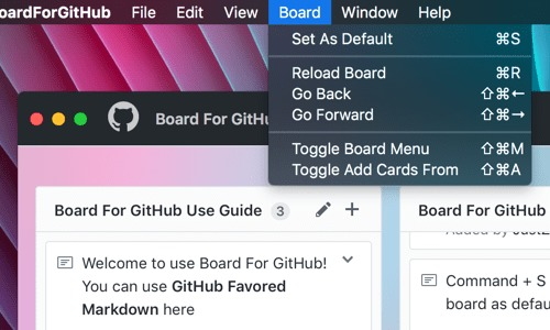 Screenshot 2 for Board For GitHub