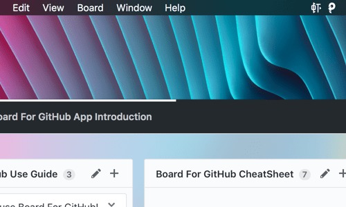 Screenshot 4 for Board For GitHub