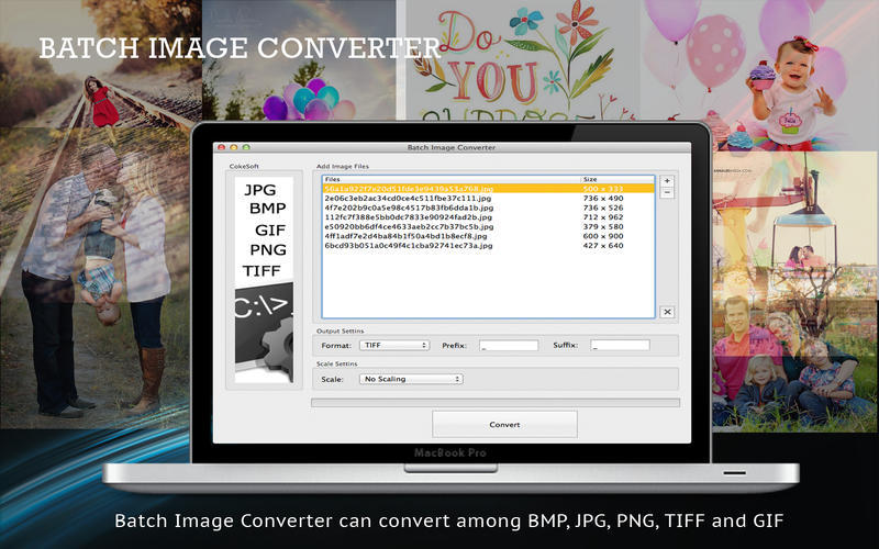Screenshot 1 for Batch Image Converter