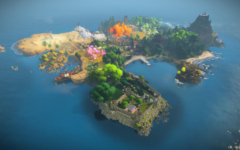 Screenshot 1 for The Witness