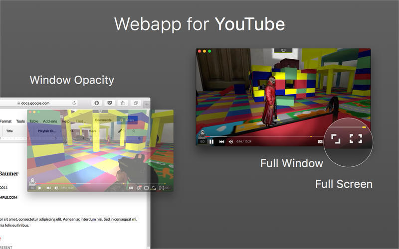 Screenshot 2 for Webapp for YouTube