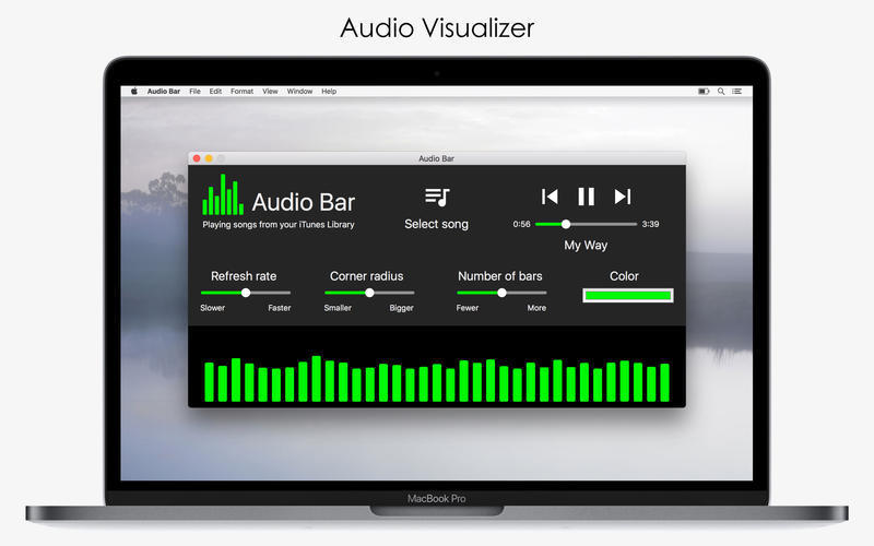 Screenshot 1 for Audio Bar