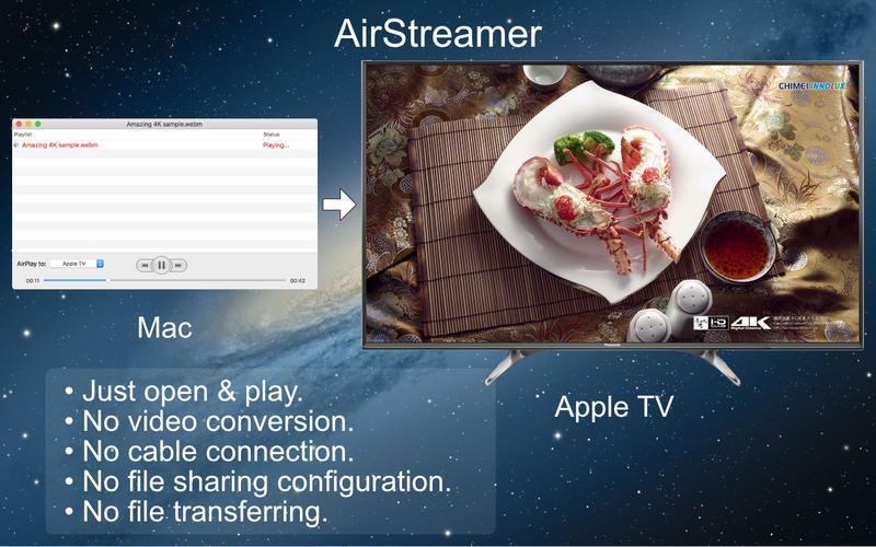 Screenshot 1 for AirStreamer