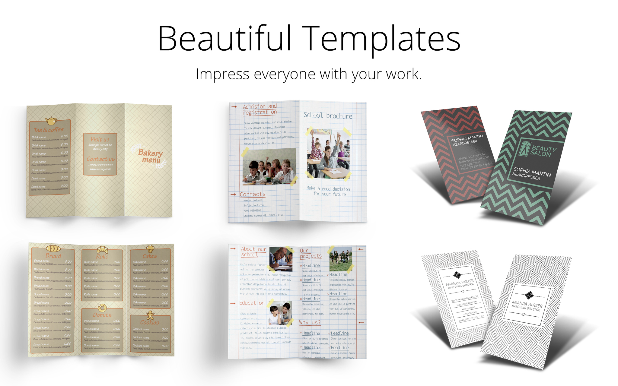 Screenshot 4 for Templates for Affinity Designer