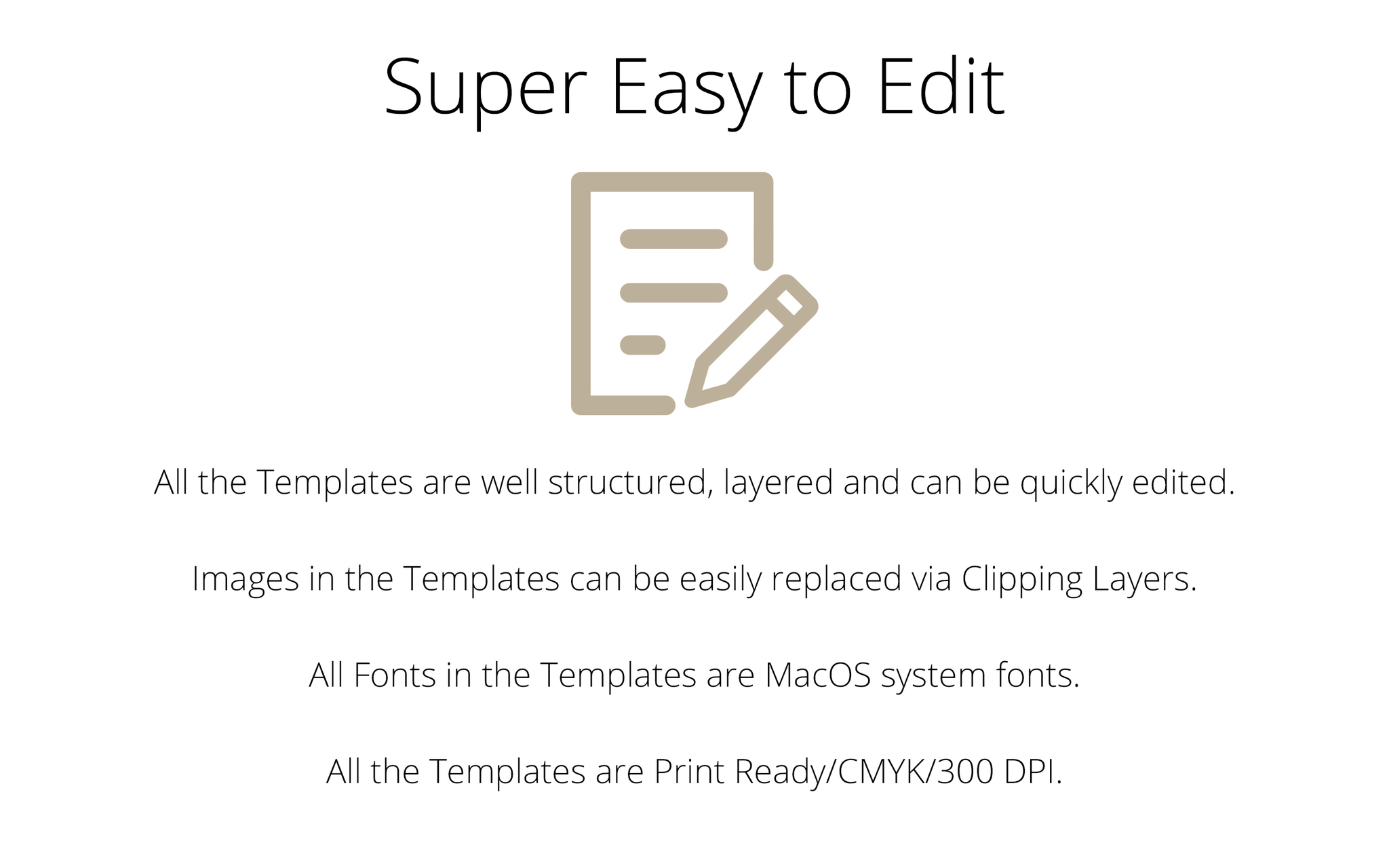 Screenshot 5 for Templates for Affinity Designer