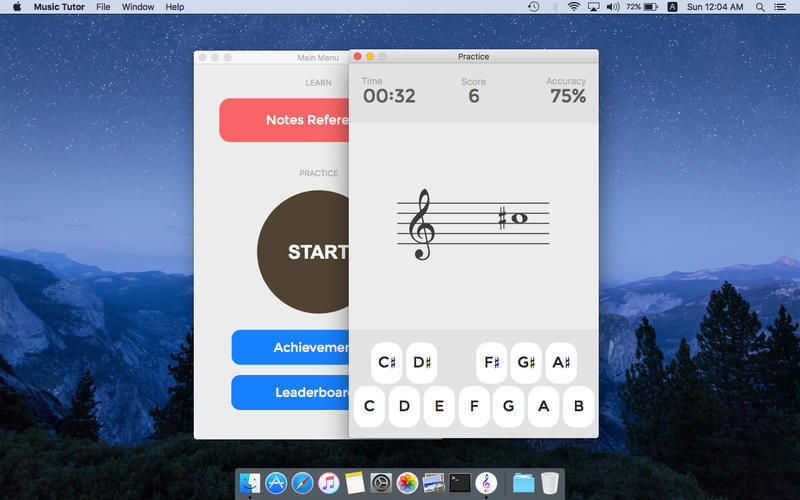 Screenshot 1 for Music Tutor