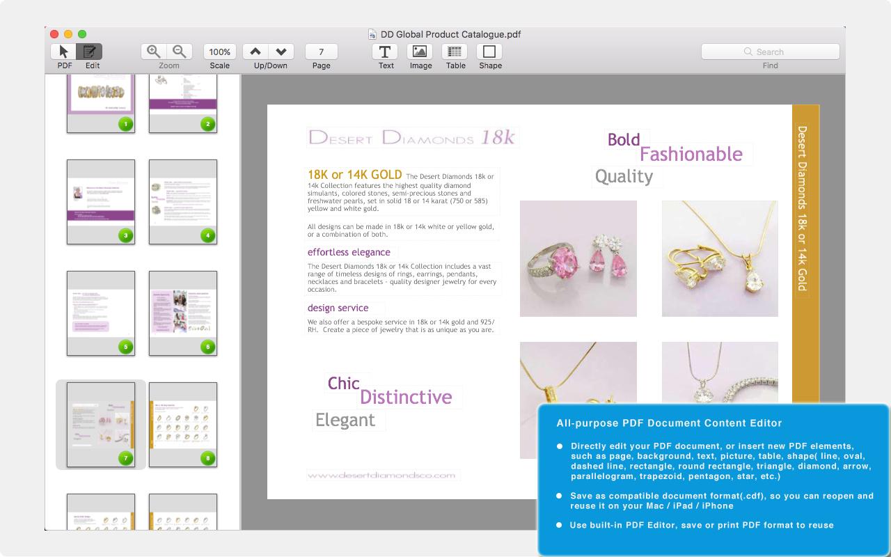 PDF Editor Pro for Mac | MacUpdate
