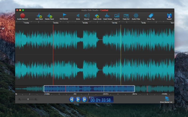 Screenshot 1 for Audio Edit Studio