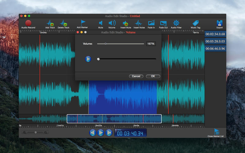 Screenshot 3 for Audio Edit Studio