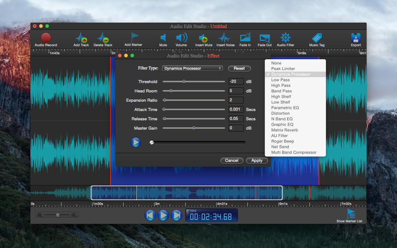 Screenshot 4 for Audio Edit Studio