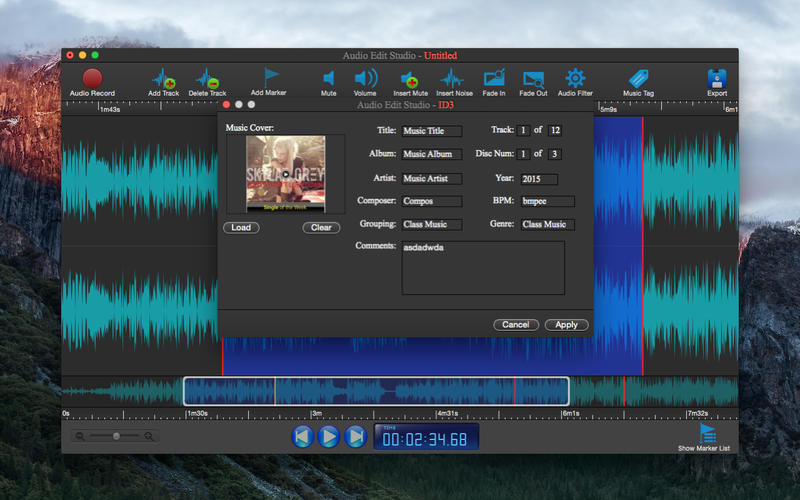 Screenshot 5 for Audio Edit Studio