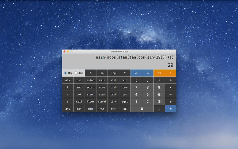 Screenshot 2 for Snowflower Calc
