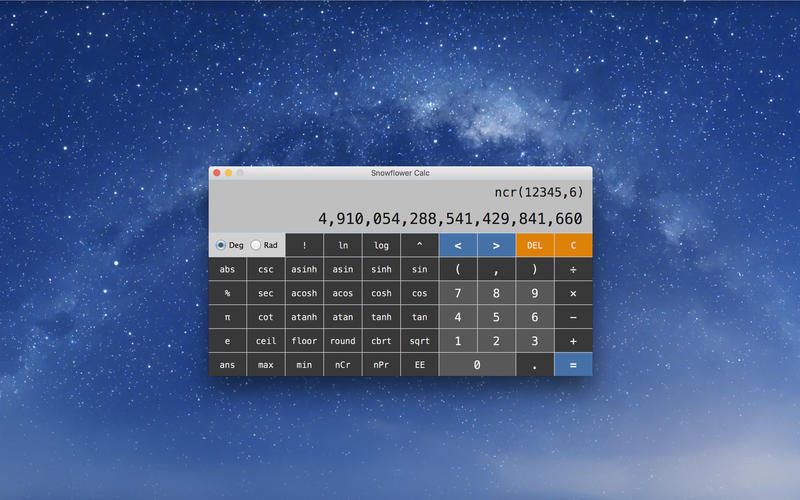 Screenshot 3 for Snowflower Calc