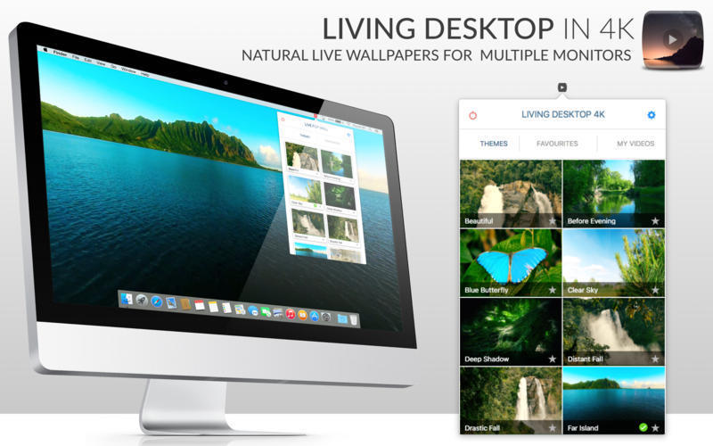 Screenshot 1 for LivingDesktop 4K
