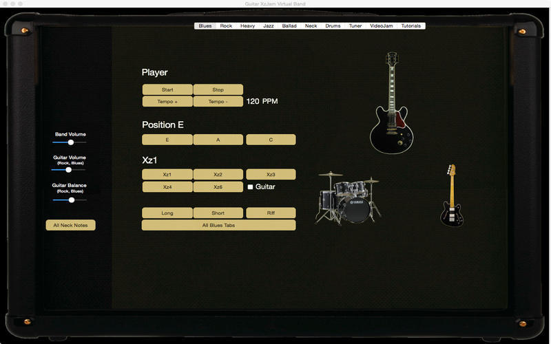 Screenshot 1 for Guitar XzJam Virtual Band
