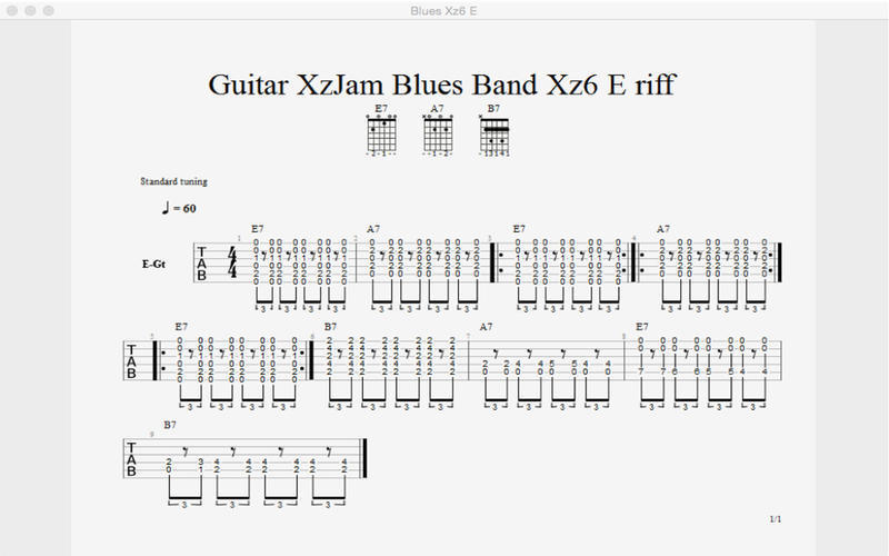 Screenshot 3 for Guitar XzJam Virtual Band