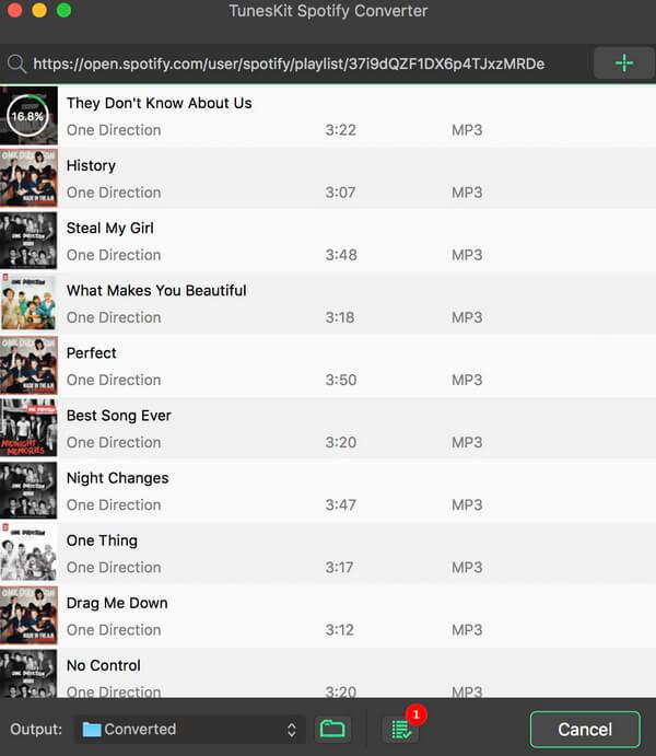 Resultado de imagen de TunesKit Spotify Converter