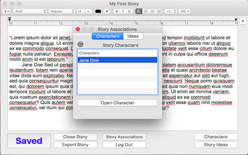 Screenshot 3 for StoryWriting